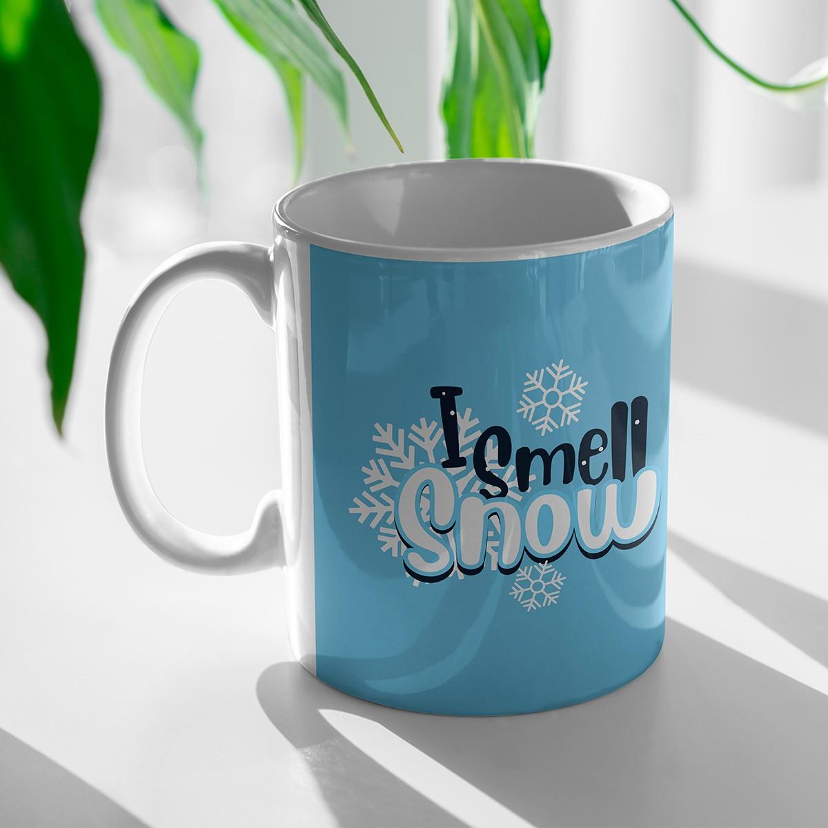 Caneca I Smell Snow Lorelai