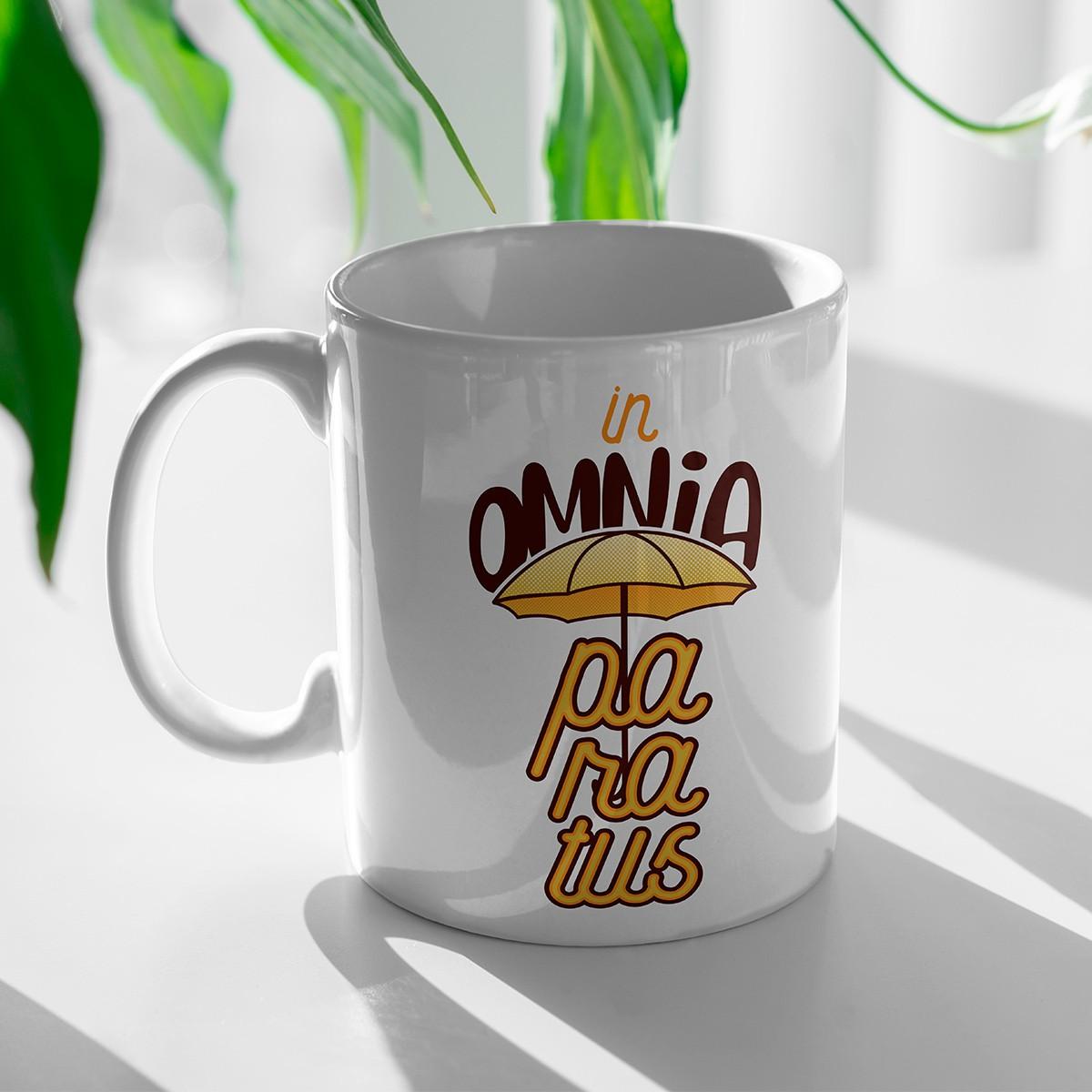 Caneca In Omnia Paratus