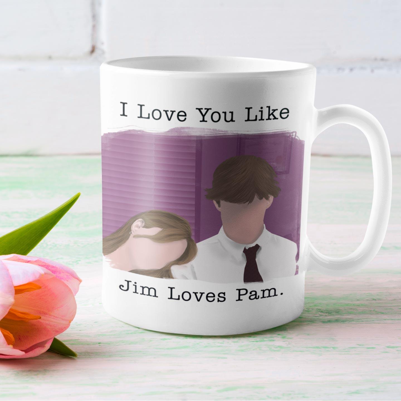 Caneca Jim e Pam