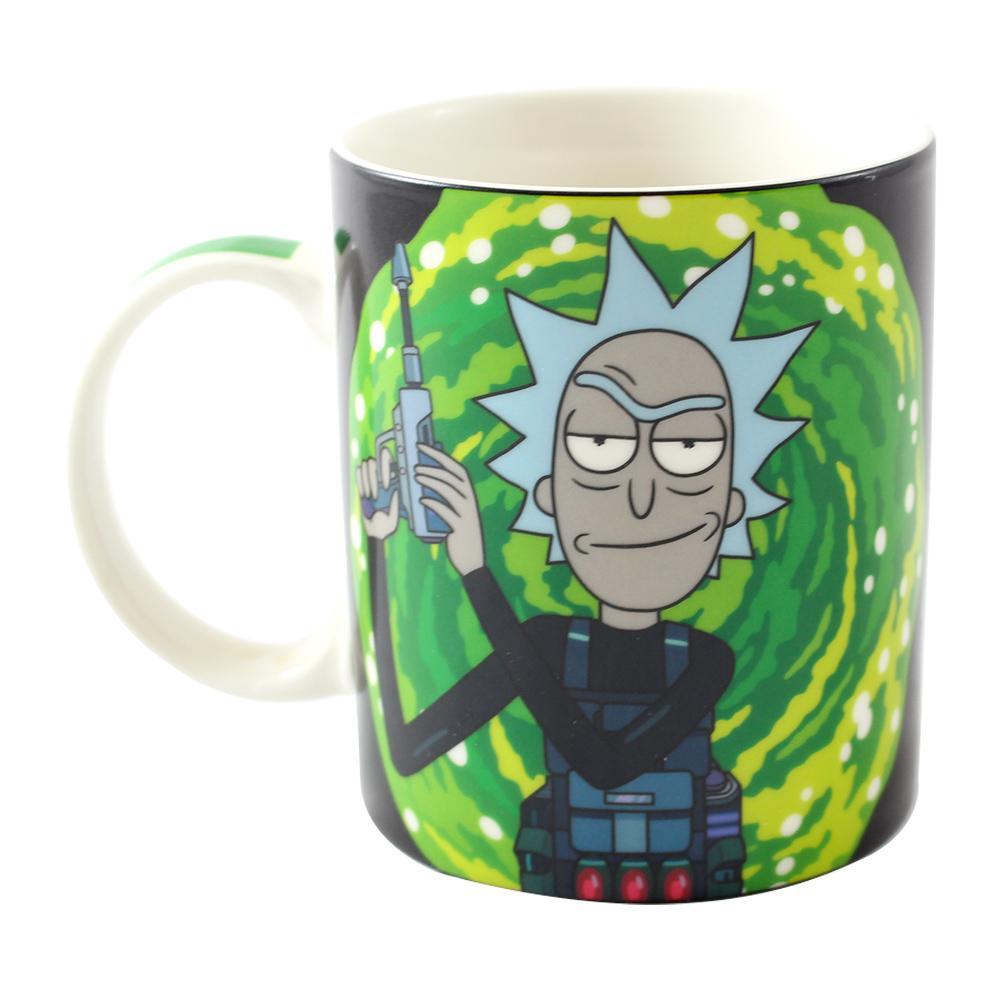 Caneca Mágica Rick e Morty Oficial