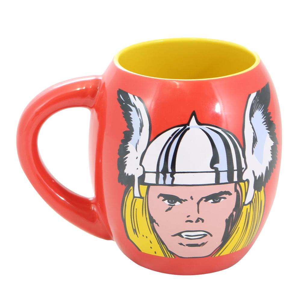 Caneca Oval Thor Oficial Marvel