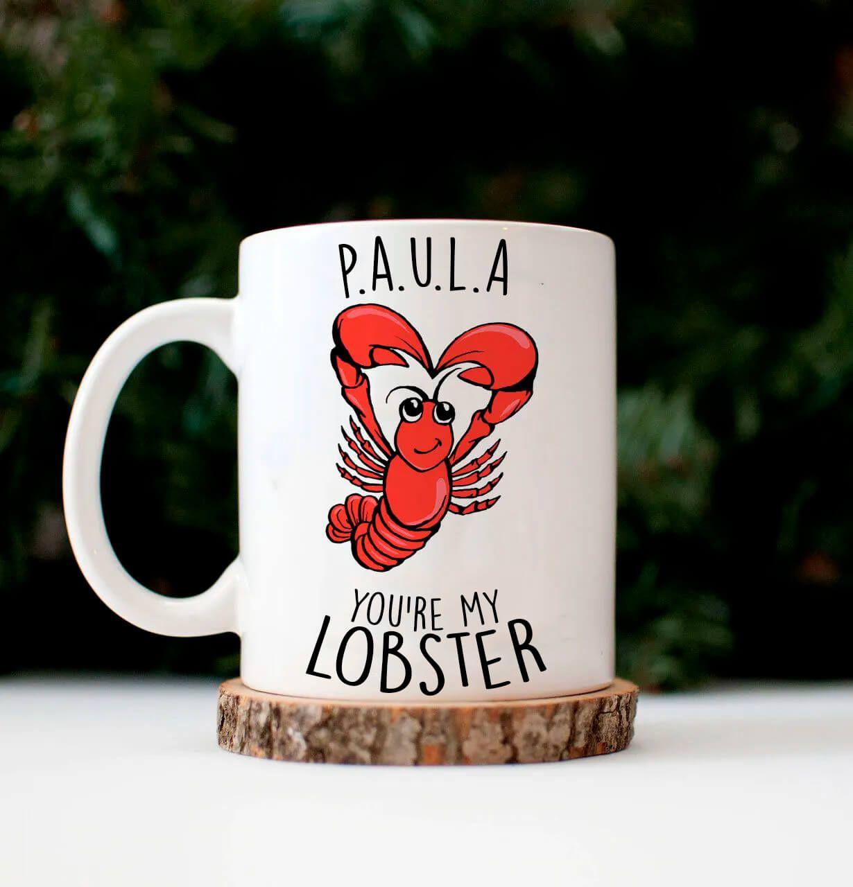 Caneca Personalizada My Lobster