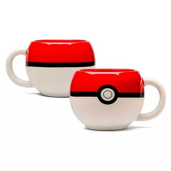 Caneca Pokebola Pokemon Porcelana
