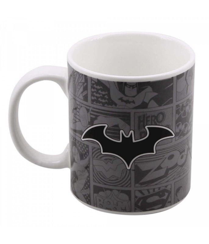 Caneca Porcelana Batman Liga da Justiça