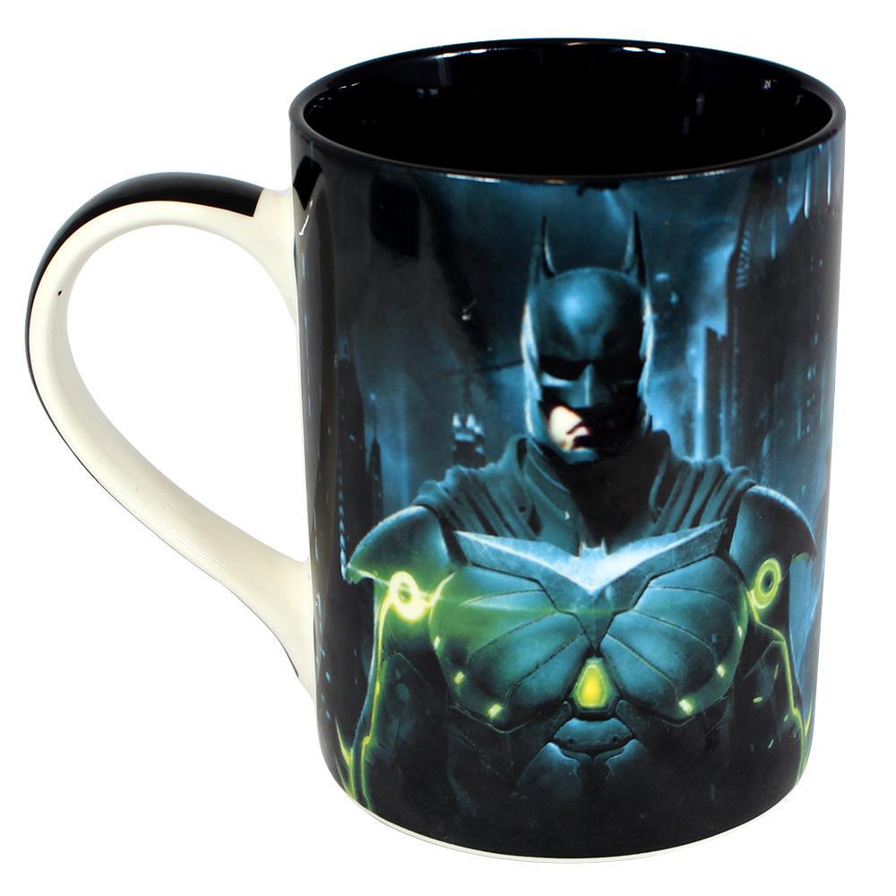 Caneca Reta Batman x Superman Injustice