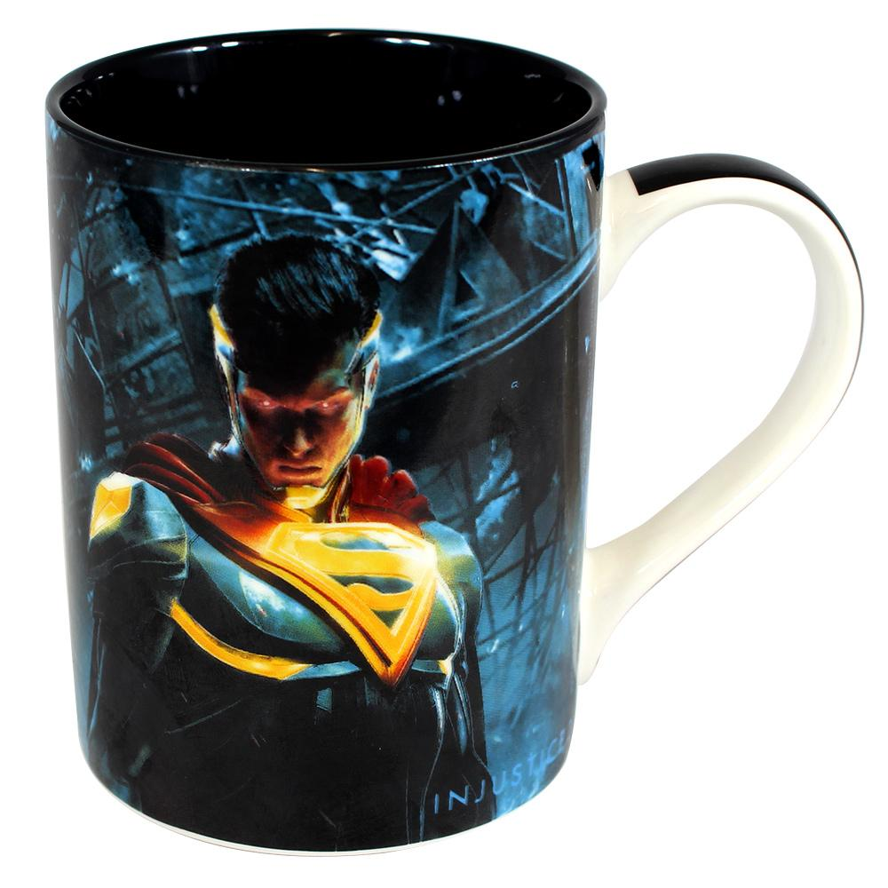 Caneca Reta Batman x Superman Injustice