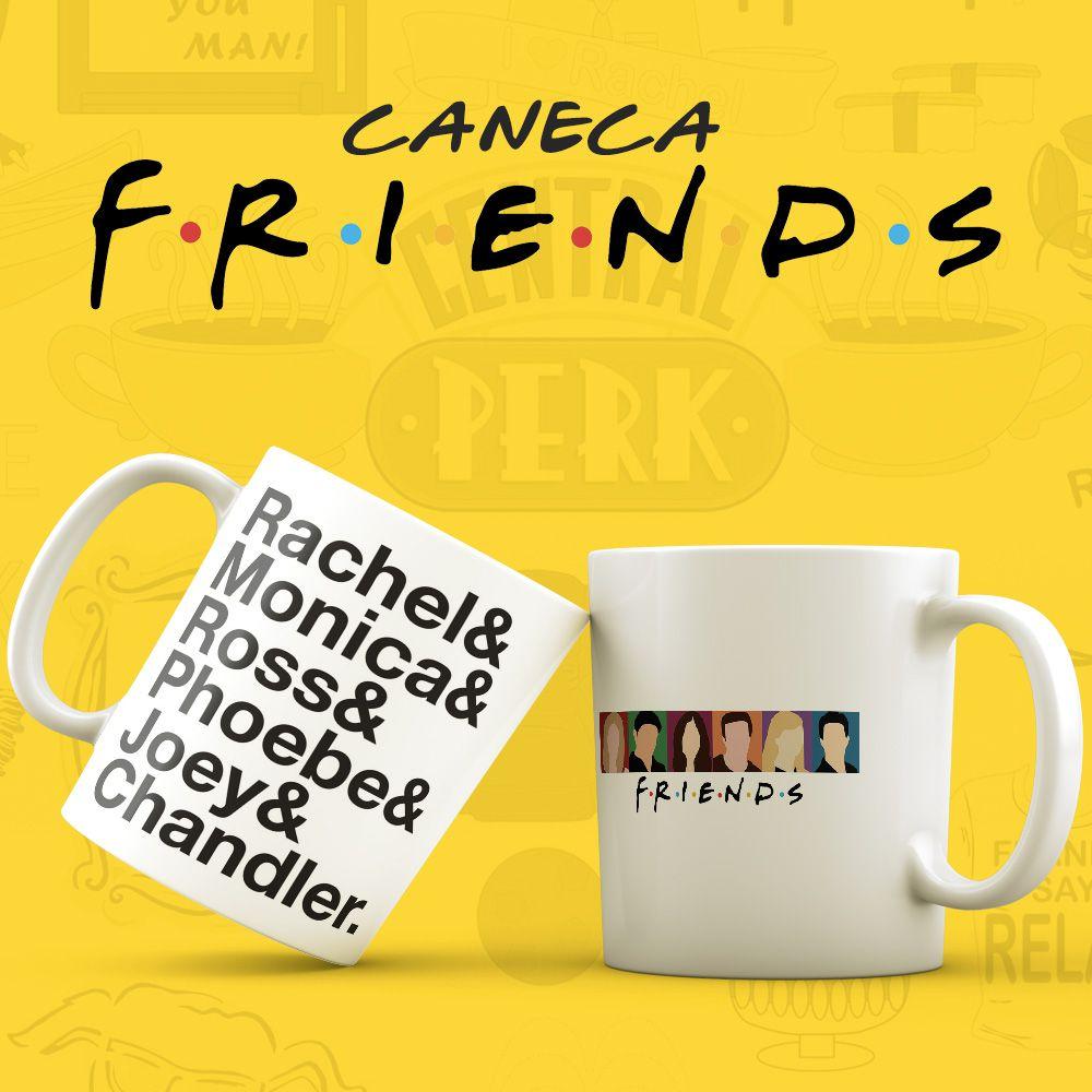 Caneca Série Amigos Nomes