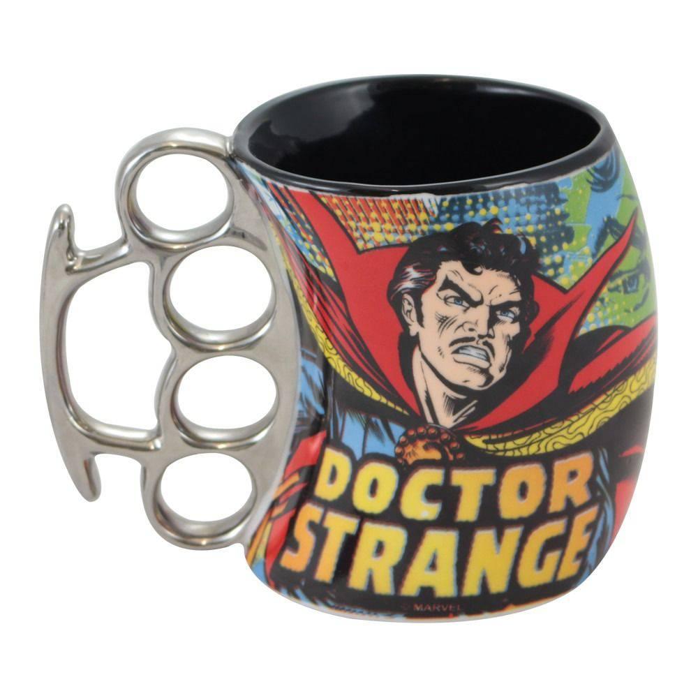 Caneca Soco Inglês Doutor Estranho Oficial Marvel
