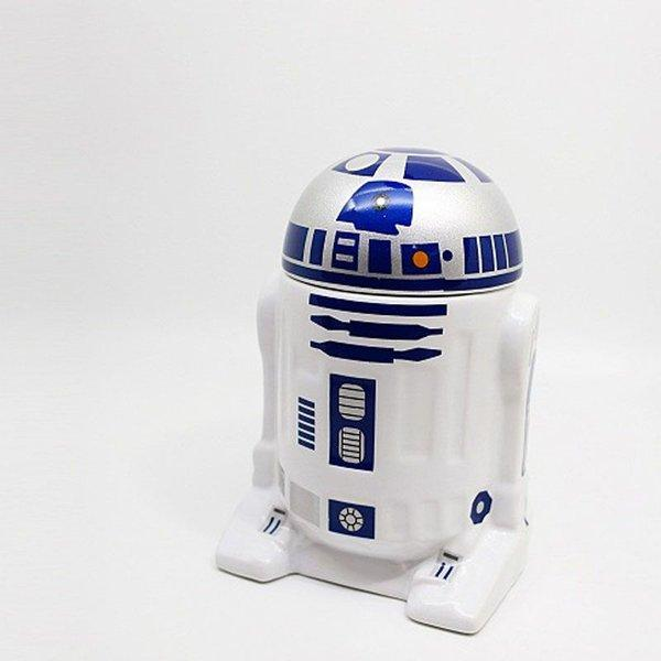 Caneca Star Wars Robô R2 D2
