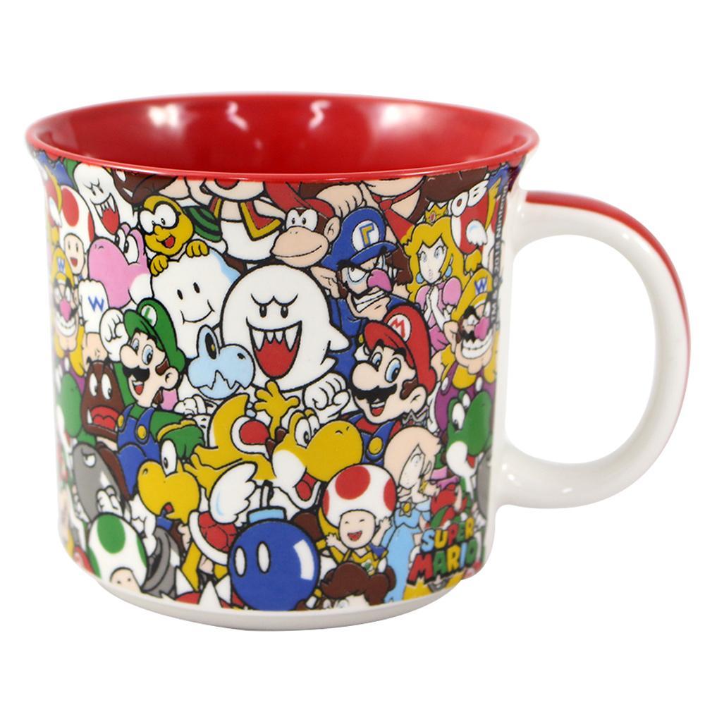 Caneca Super Mario e Amigos