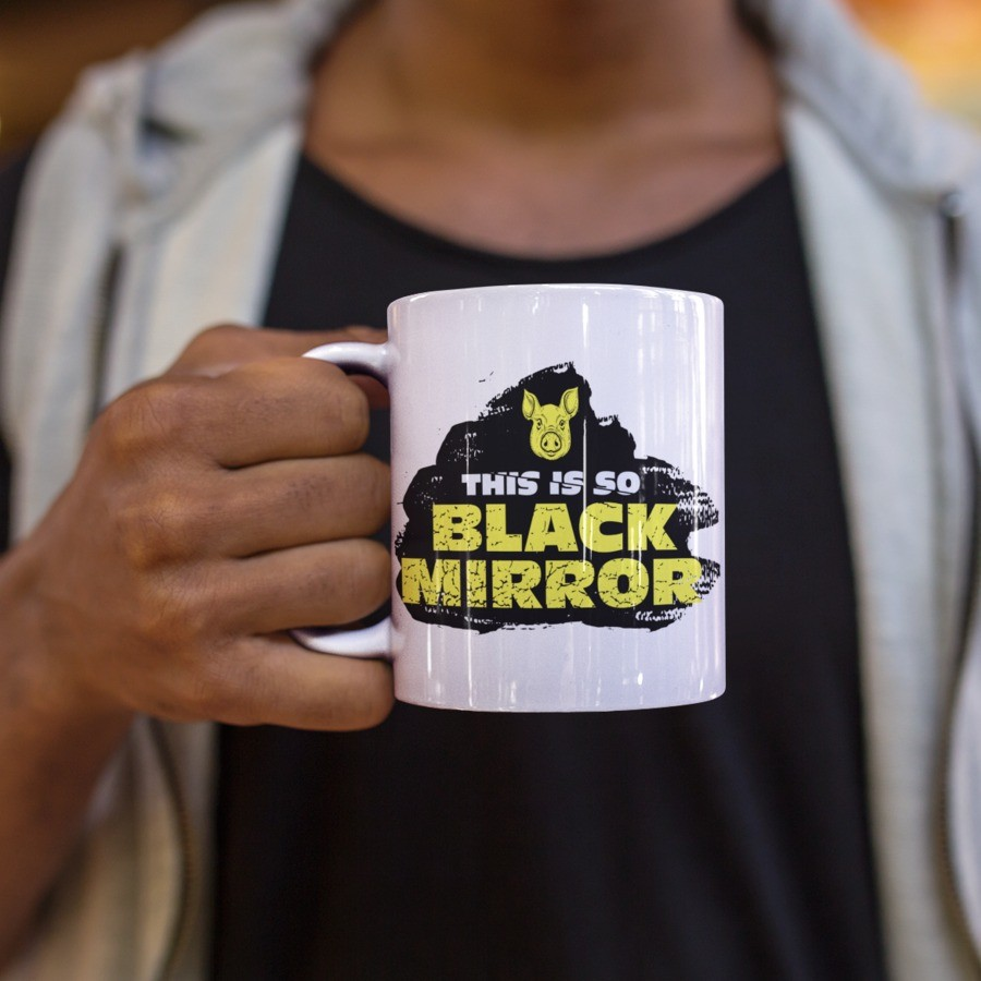Caneca This is Black Mirror