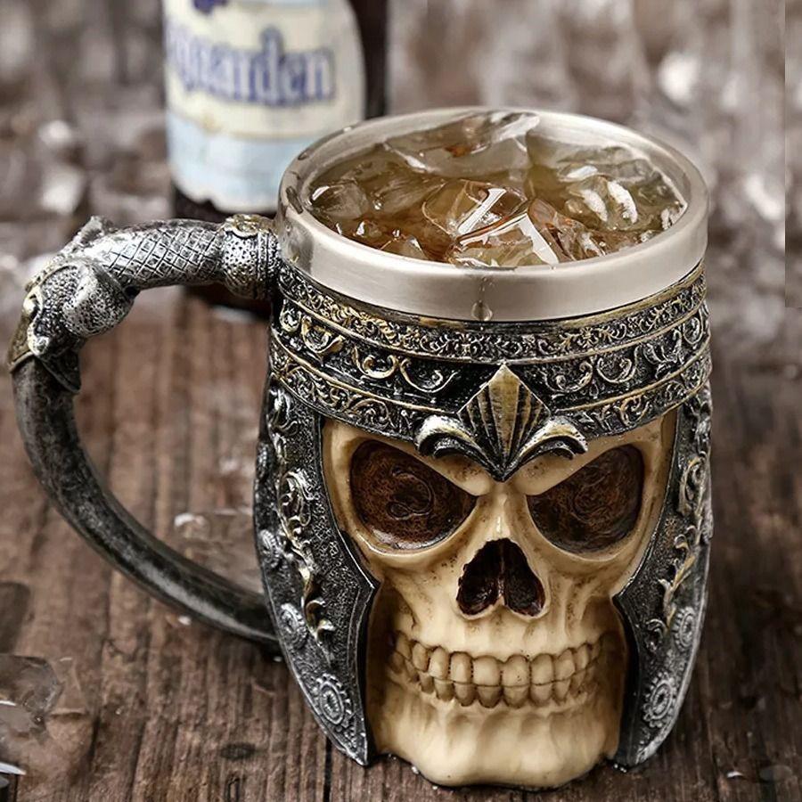 Caneca Viking Skull Caveira
