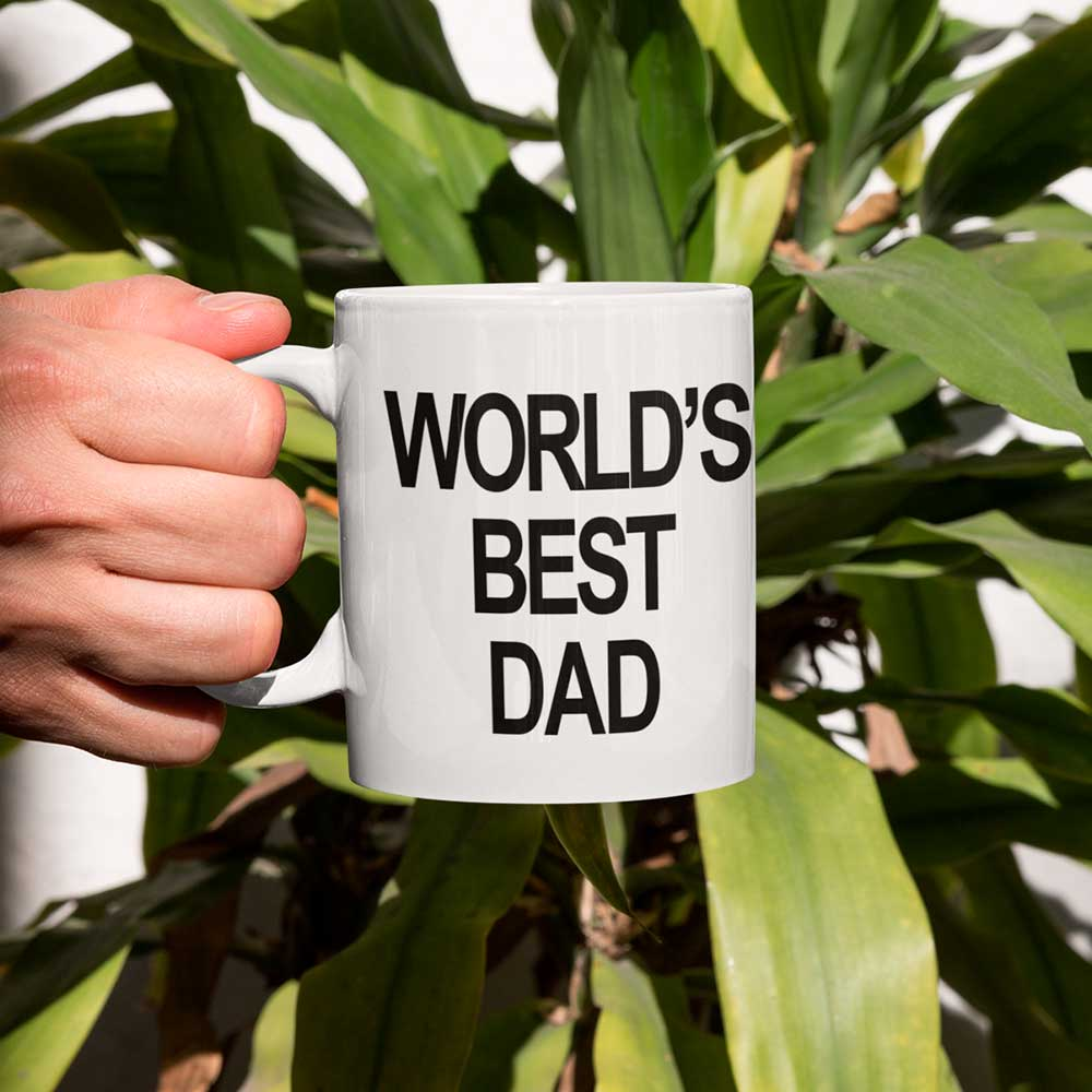 Caneca World's Best Dad