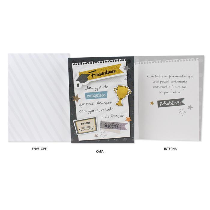 Cartão de Presente Ocasiões Especiais Formatura