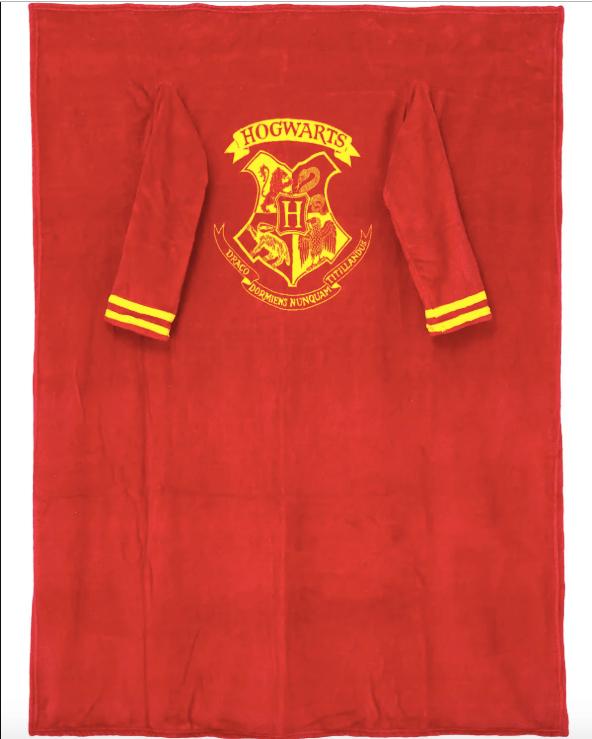 Cobertor Com Mangas Oficial Harry Potter