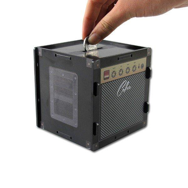 Cofre para Moedas Amplificador Plastico