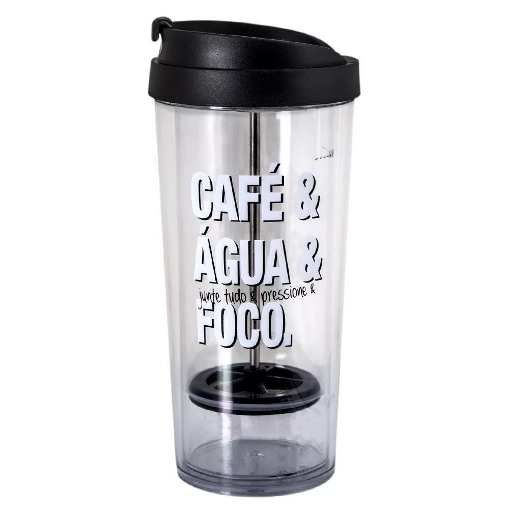 Copo Café Prensado Palavras