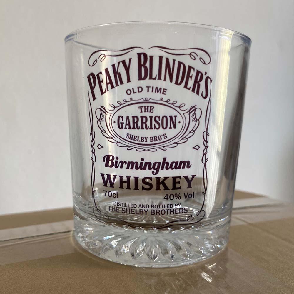 Copo de vidro whisky - Peaky Blinders