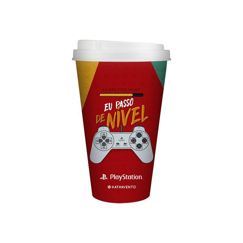 Copo Gamers Oficial Playstation Retro