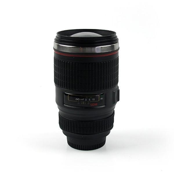 Copo Térmico Camera Fotografica com Lente