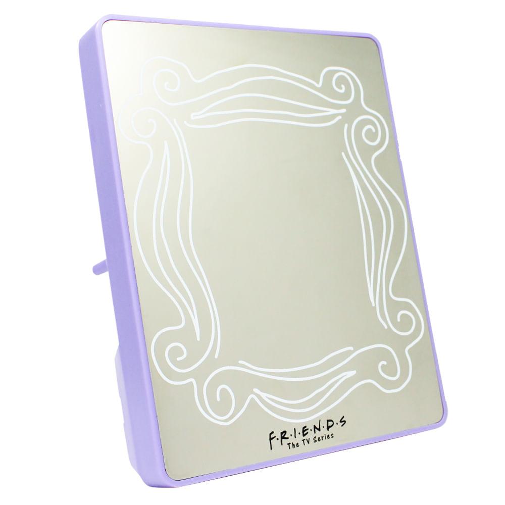 Espelho Com Led Porta Retrato Friends Moldura
