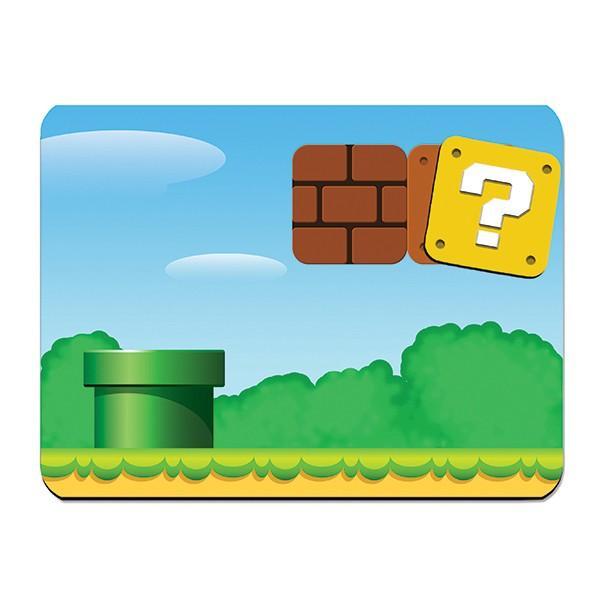 Jogo Americano e Porta Copo Super Mario World
