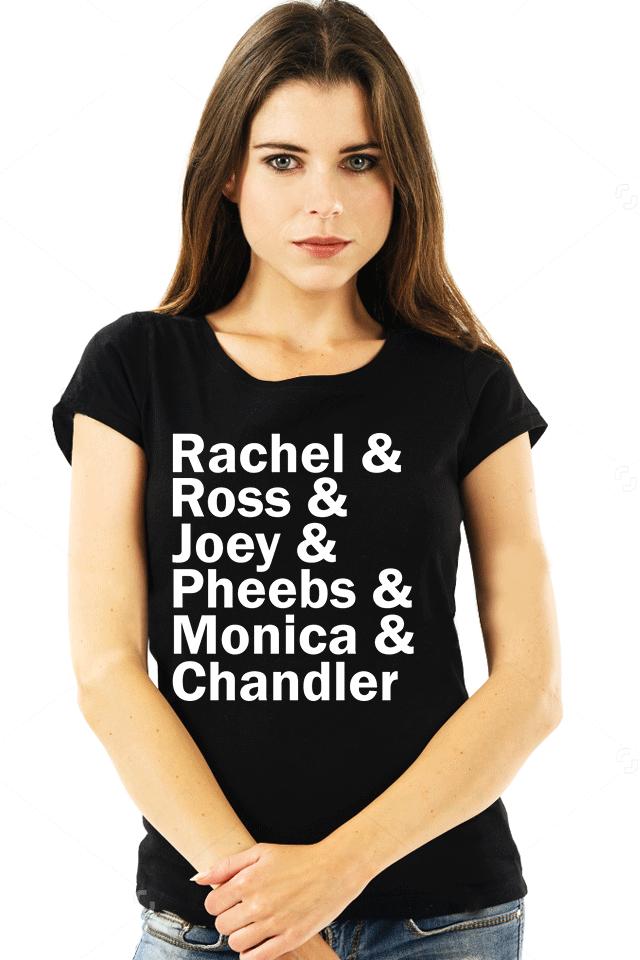Kit 3 Camisetas Friends