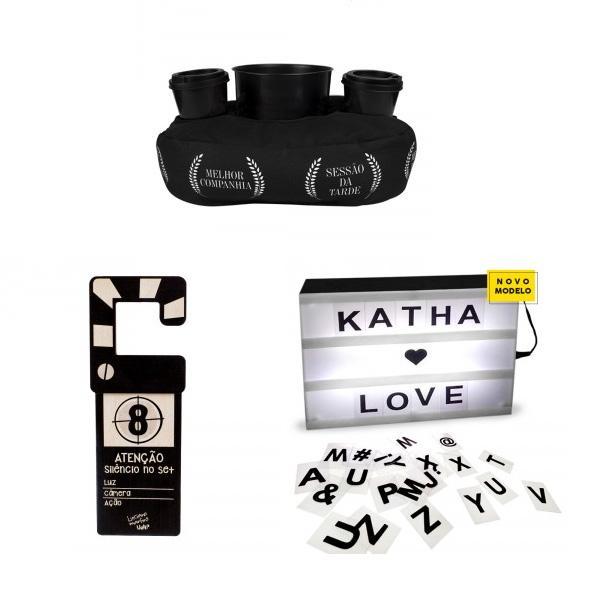 Kit Cinema em Casa