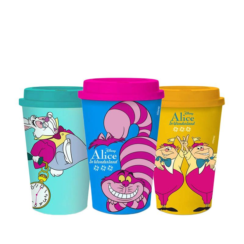 Kit Copos Disney Alice no Pais das Maravilhas