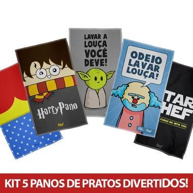 Kit Panos de Prato Geek
