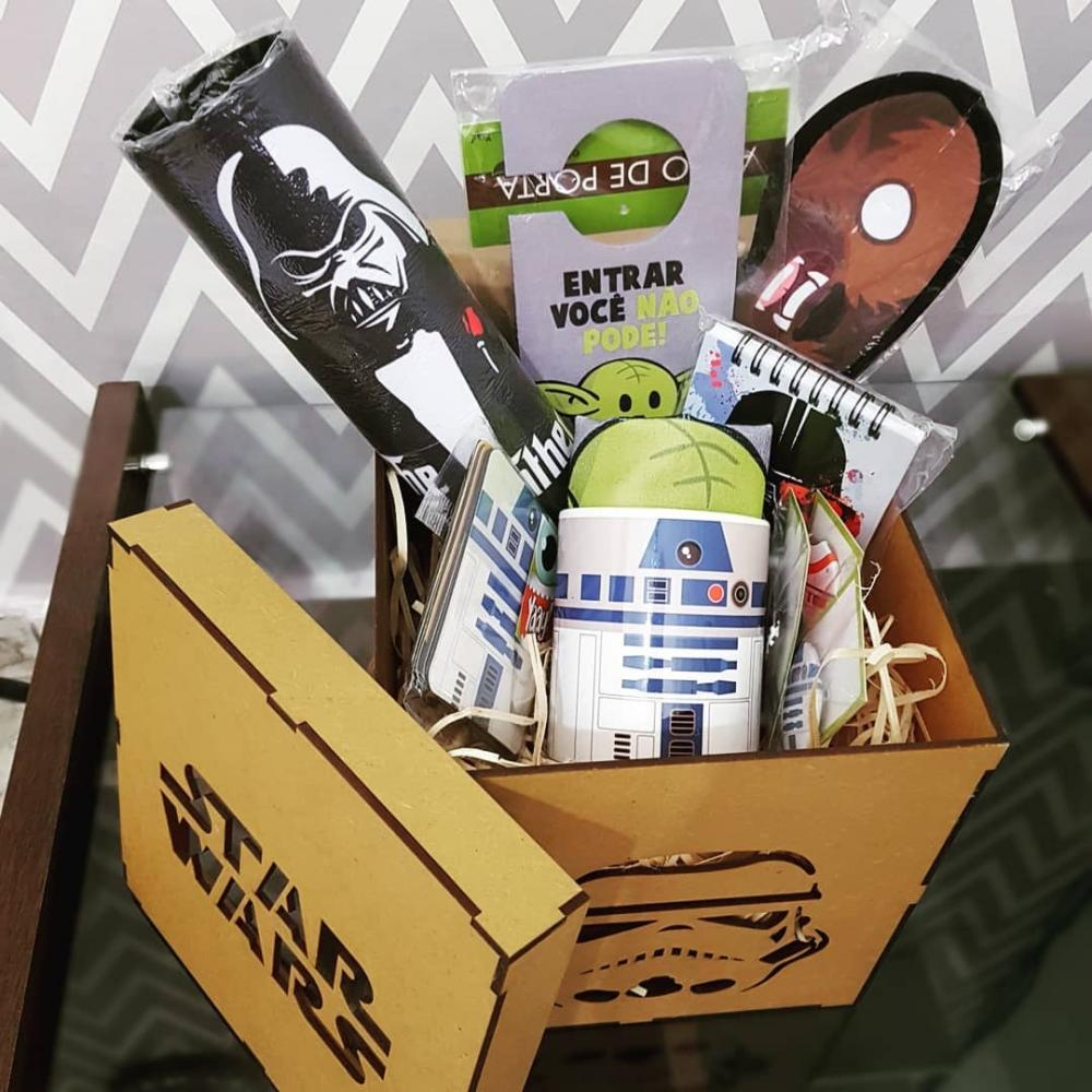 Kit Presenteável Star Wars exclusivo Nerdolandia