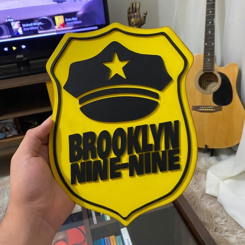 Kit Super Fã Brooklyn Nine Nine