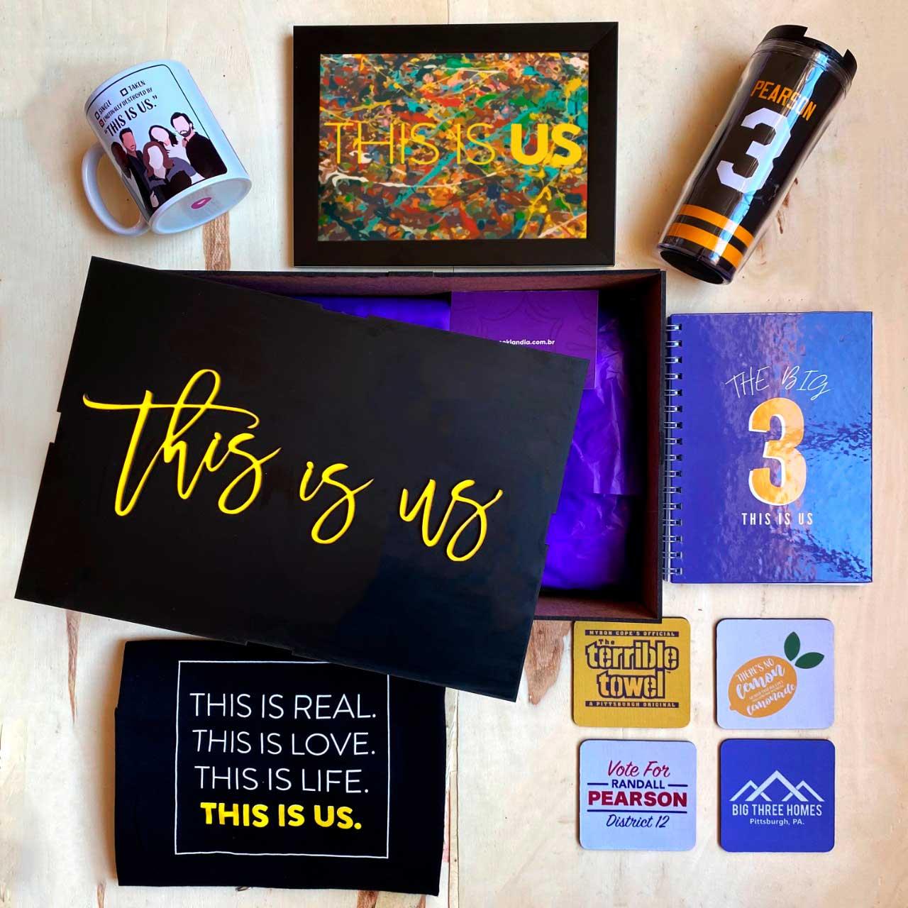 Kit Super Fã This Is Us + Box Temática EDIÇÃO LIMITADA