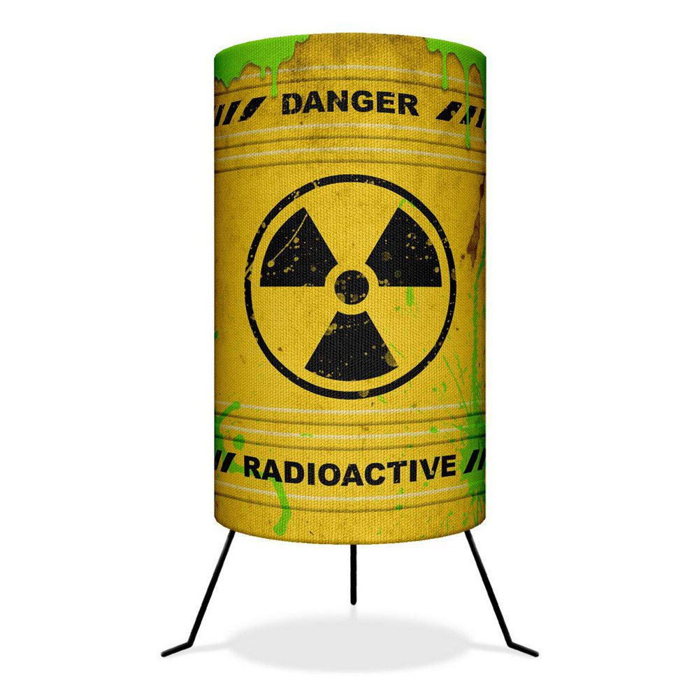 Luminária Barril Radioativo