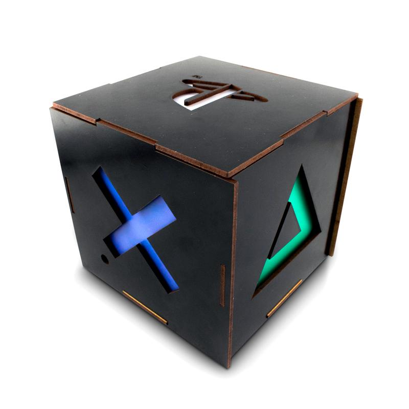 Luminaria Cubo Oficial Playstation