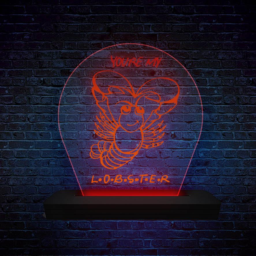 Luminária de LED Lobster