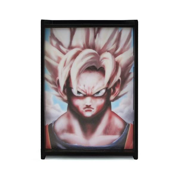 Luminária Dragon Ball Goku Super Saiyajin