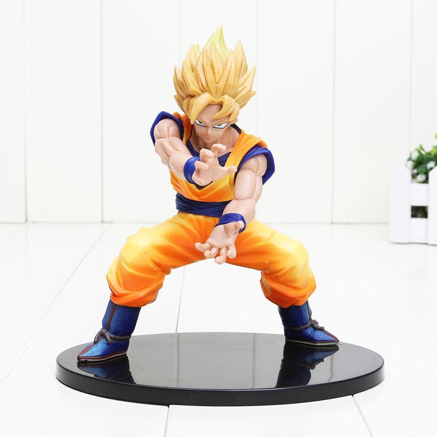 Luminária Dragon Ball Z Super Saiyan Goku Genki Dama