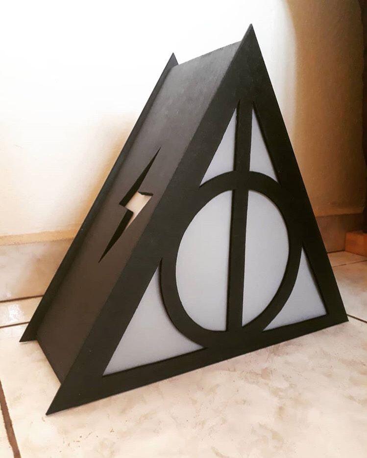 Luminária Harry Potter Reliquias da Morte