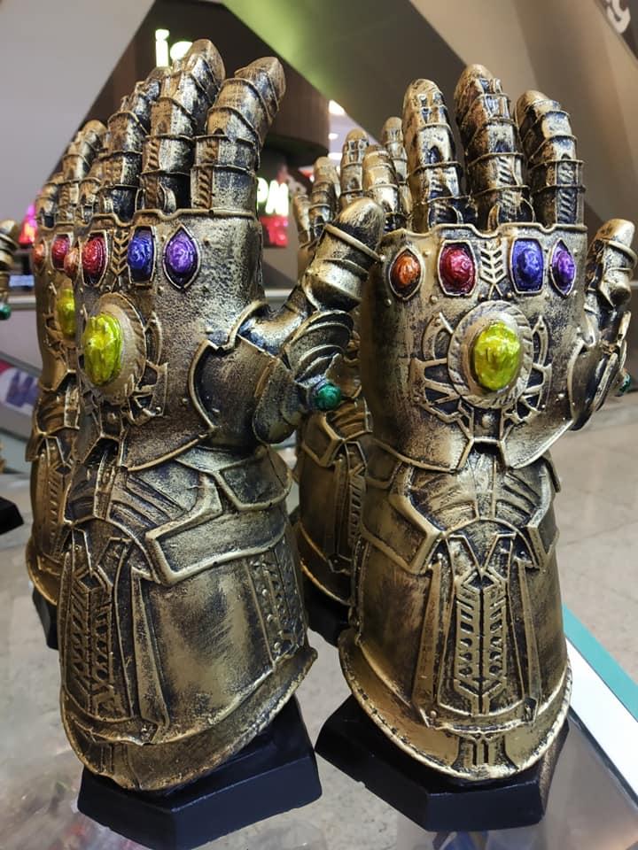 Manopla Thanos 27cm Resina