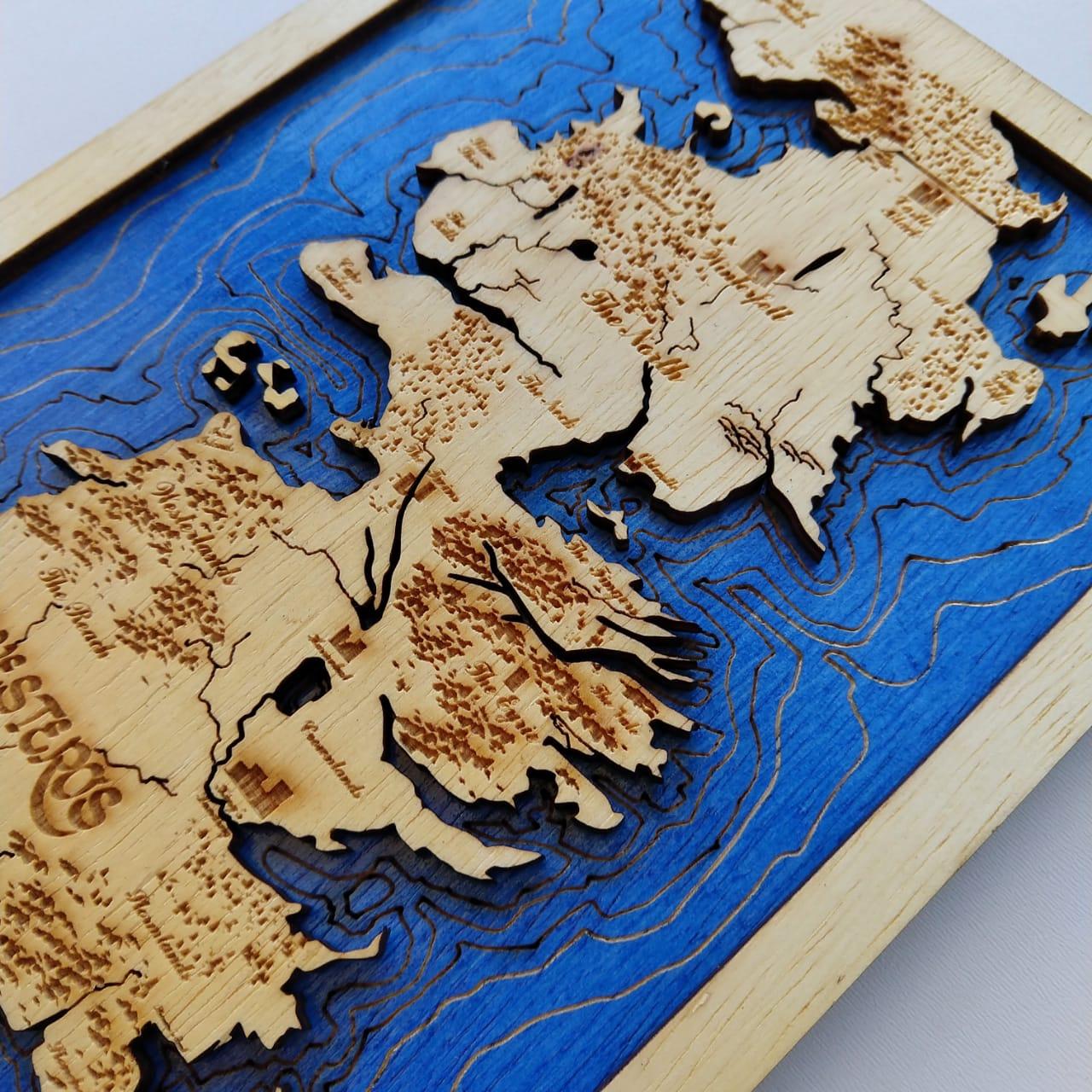 MAPA DE WESTEROS - SEVEN KINGDOMS