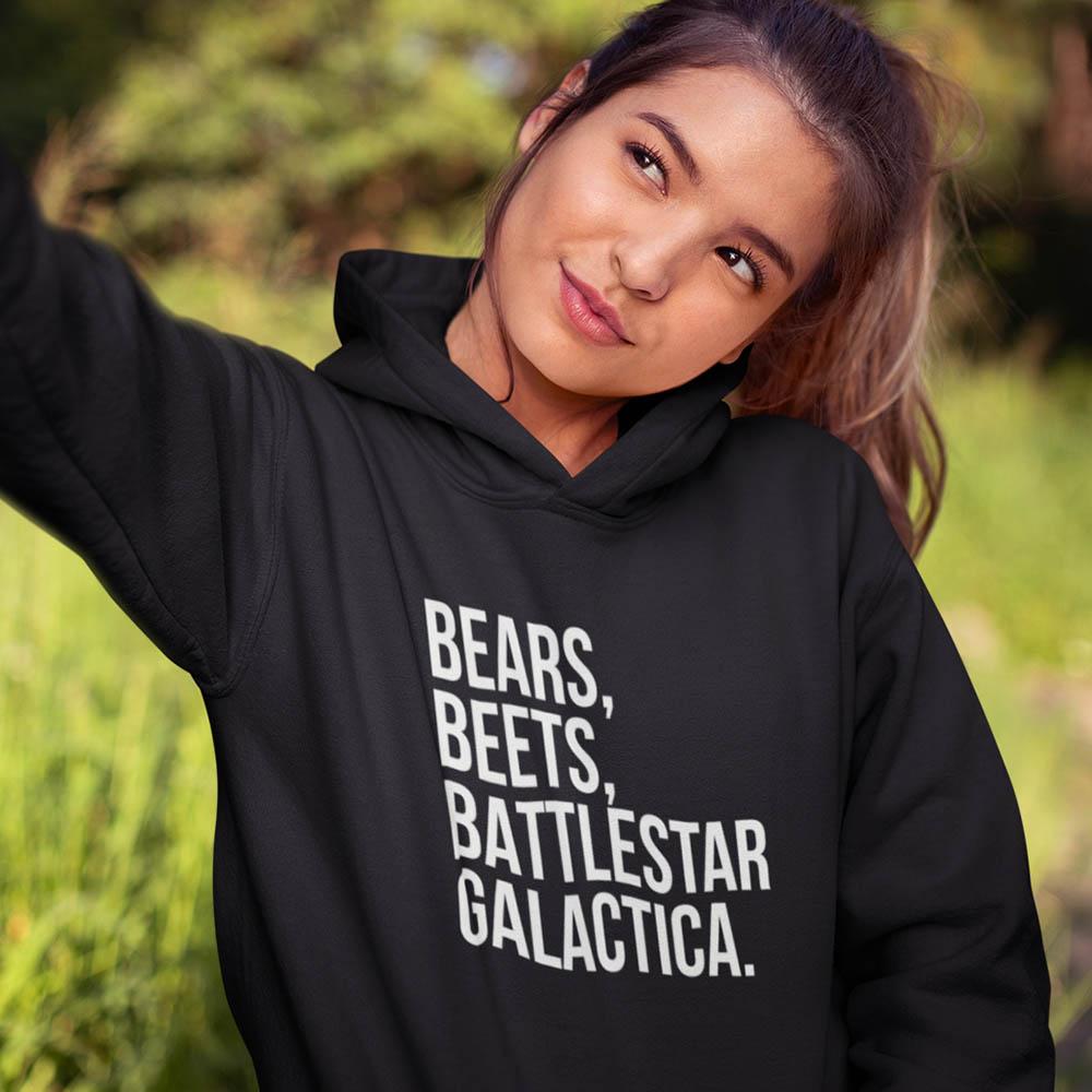 Moletom Bears Beets Battlestar Galactica