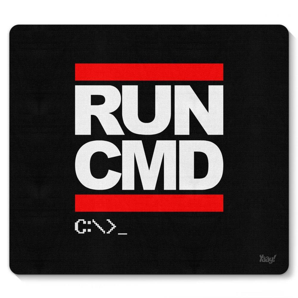 Mousepad Hacker Run CMD