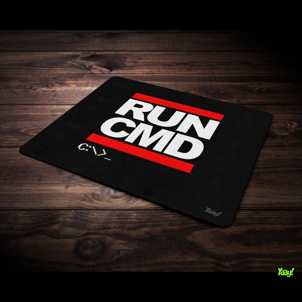 Mousepad Hacker Run CMD