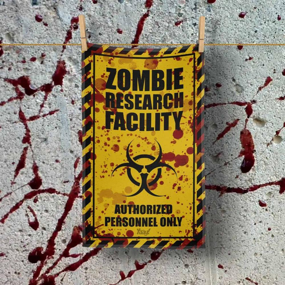 Pano de Prato Zombie Research Facility Blood