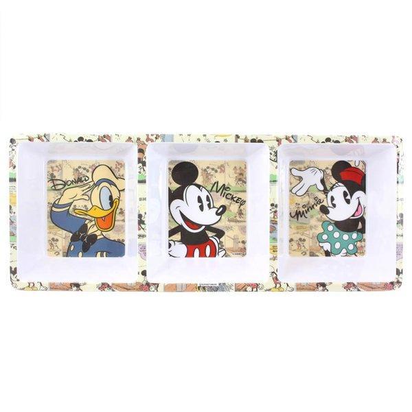 Pestisqueira Retangular Mickey Minnie Licenciado Disney