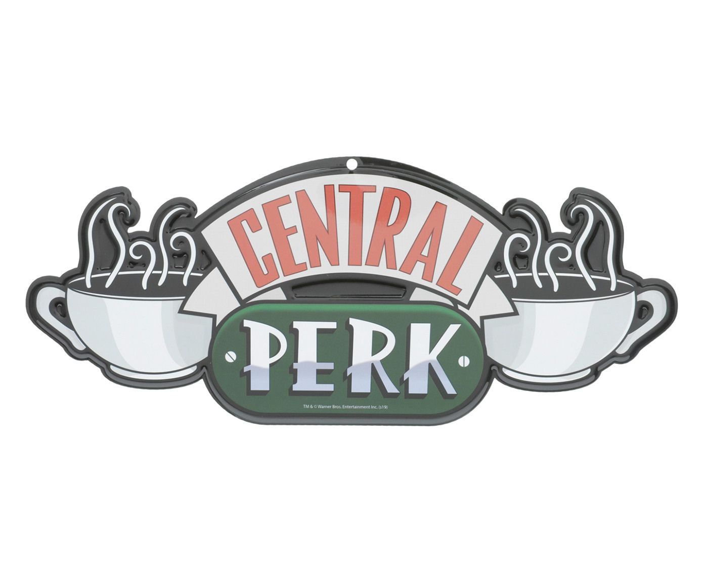 Placa Decorativa Central Perk Oficial Friends