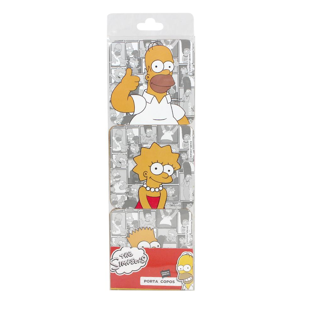 Porta Copos Os Simpsons