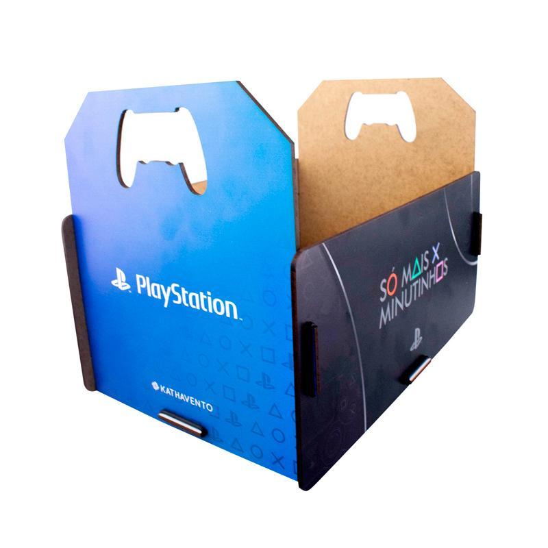 Porta Jogos Playstation Ps4 17 Jogos Caixote Oficial