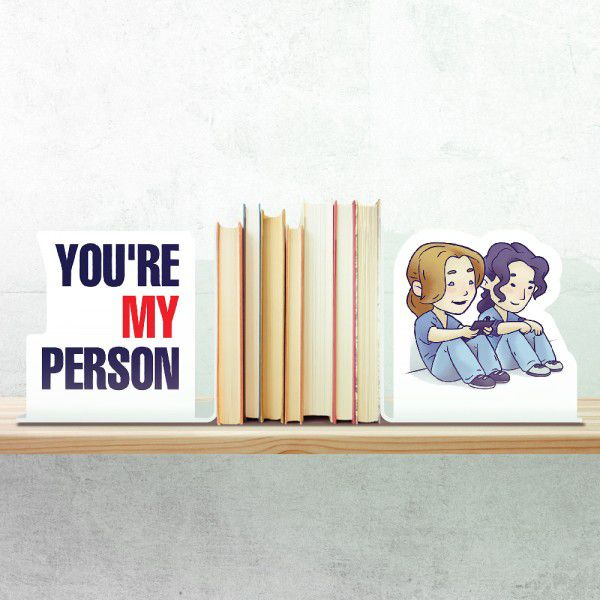 Aparador Porta Livros You're my Person Greys Anatomy